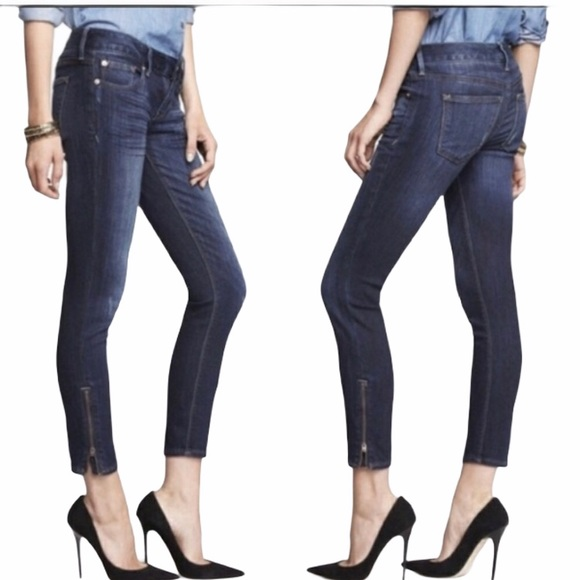 Express Stella Low rise ankle legging jeans